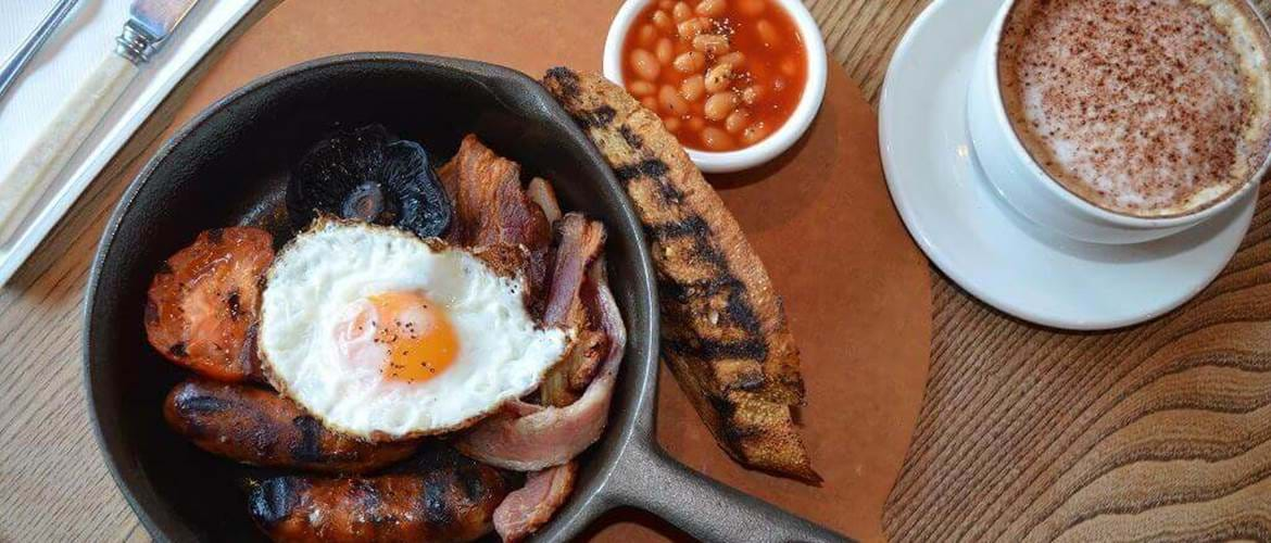 Breakfast at Benugo Rooftop - Oxford