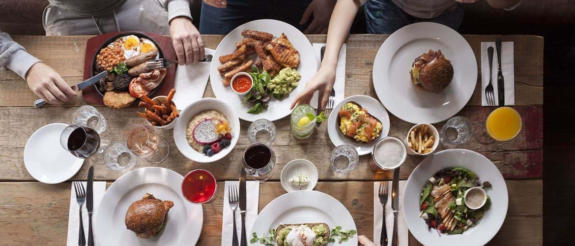 Brunch Spread at Lost & Co Battersea