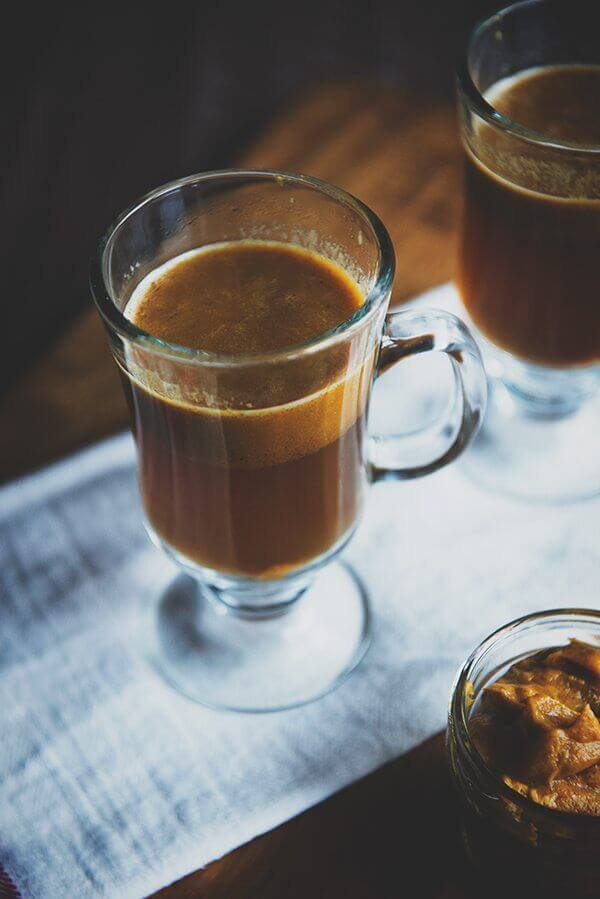 Hot Pumpkin Buttered Rum - Festive Winter Warmer Drinks for Christmas Brunch