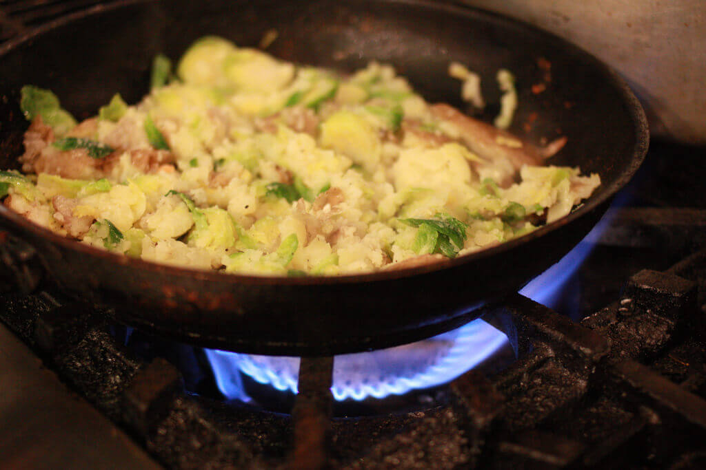 Bubble and Squeak - Christmas Lunch leftover recipes