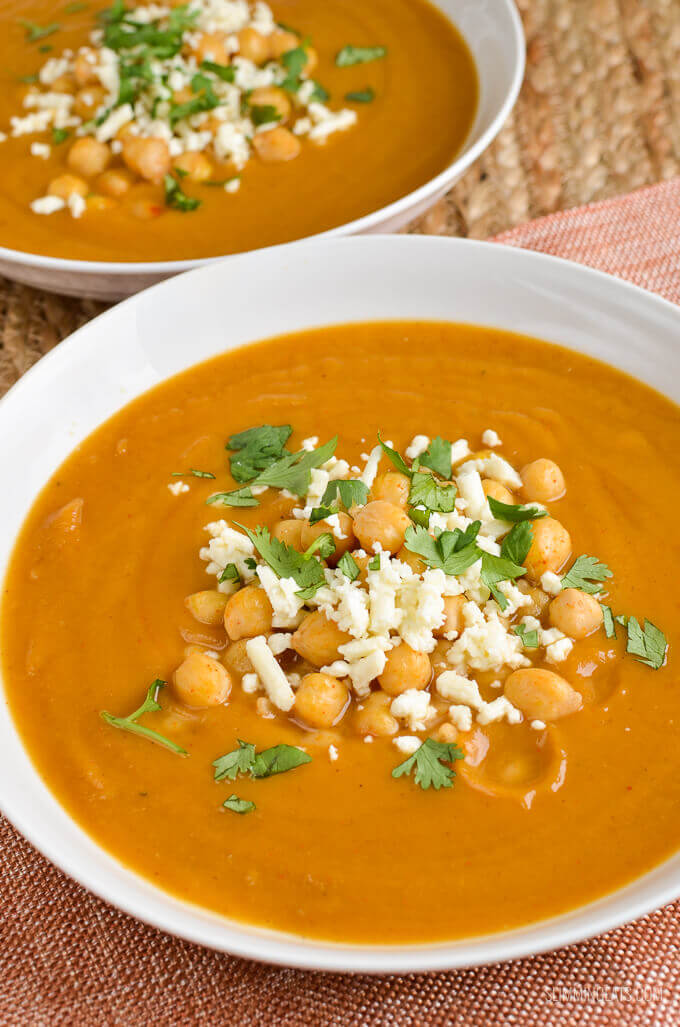 Sweet Potato and Parsnip Soup - Christmas Lunch leftover recipes