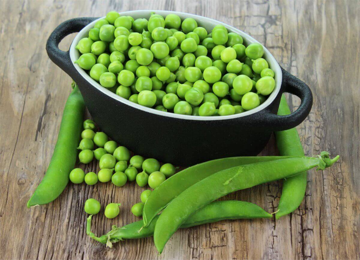 Peas for a Christmas Roast Dinner or Sunday Dinner