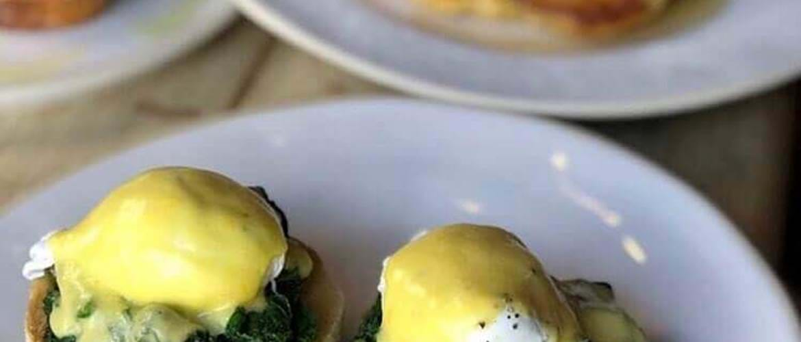 Eggs Florentine at The Tavern - Cheltenham
