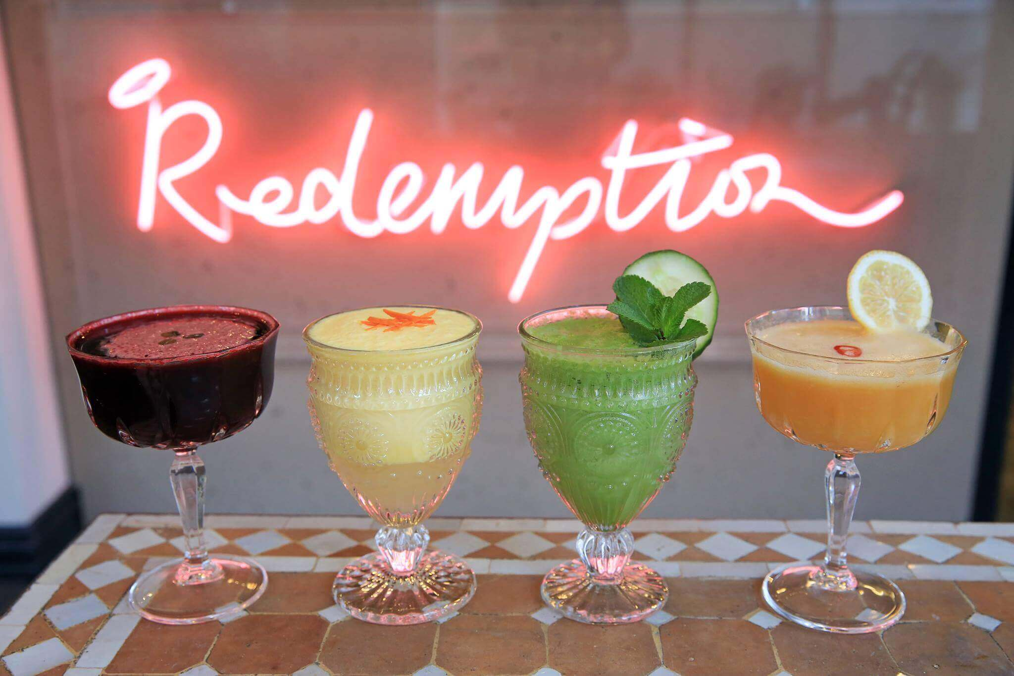 Redemption Bar at Covent Garden London