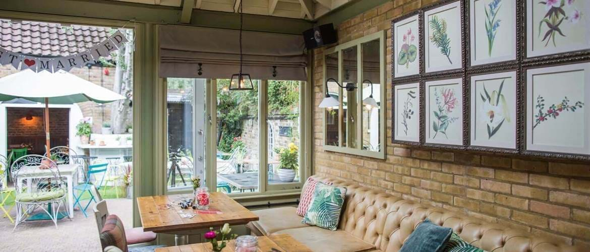 Conservatory at The Grange Ealing