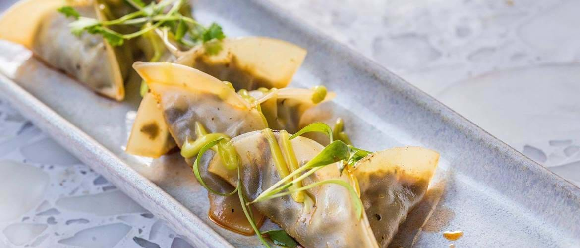 Pot Stickers at Senor Ceviche
