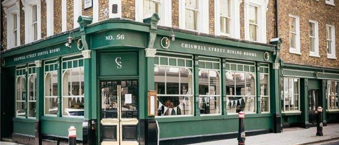 Exterior at Chiswell Street Dining Rooms