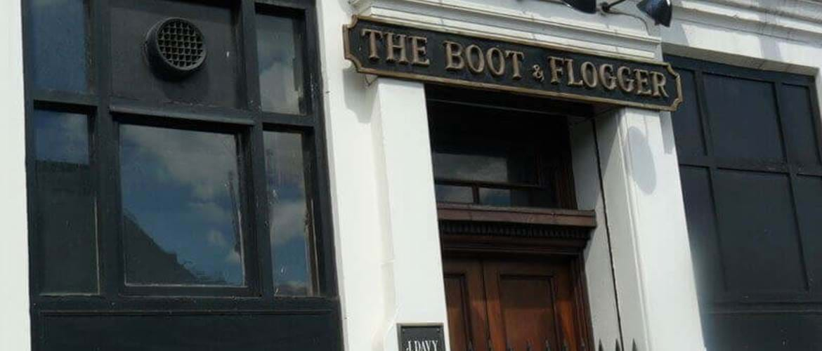 Exterior at The Boot and Flogger