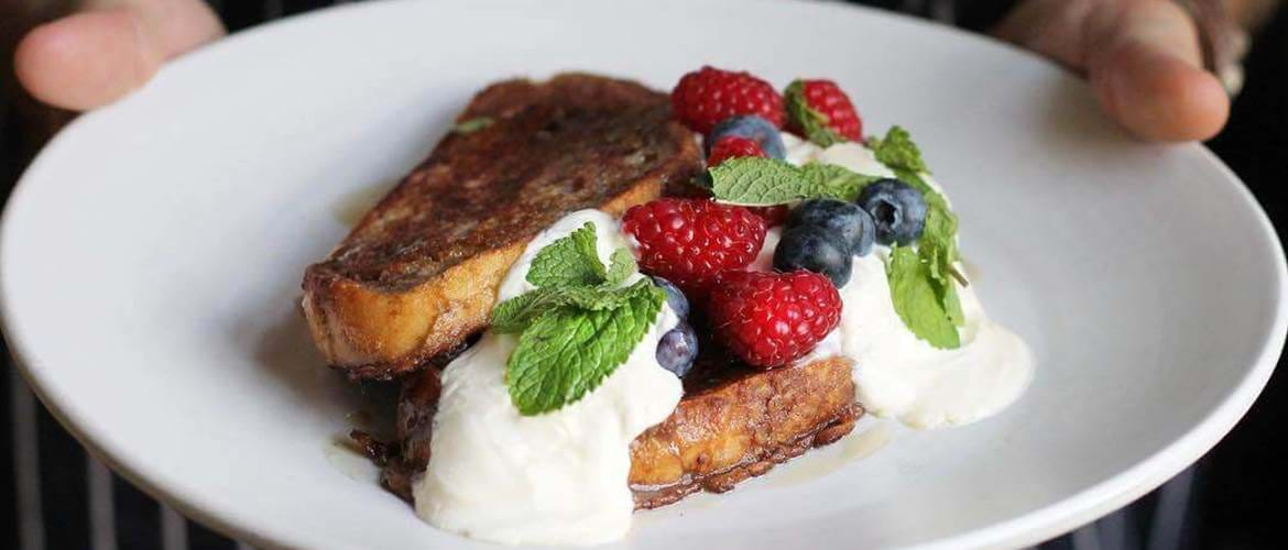 French Toast at The White Haus