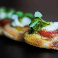 Bruschetta at Goat Chelsea