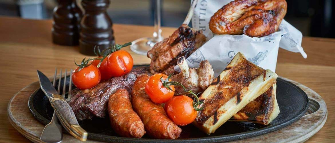Meat Feast at Gillray's Steakhouse & Bar