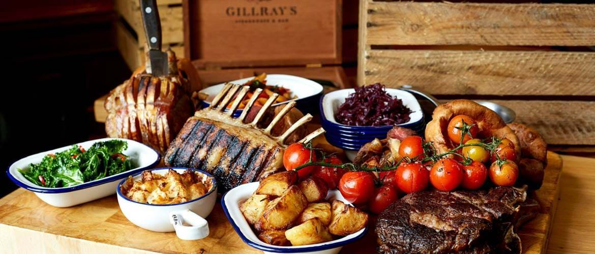 Roast Beef at Gillray's Steakhouse & Bar