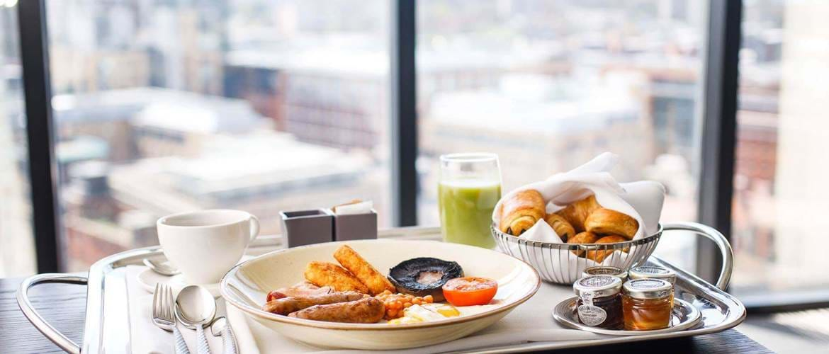 Breakfast at Aria Restaurant in Hyatt Regency - Birmingham