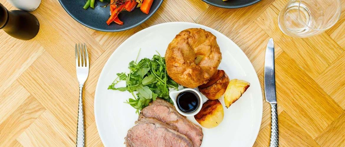 Roast Beef at Aria Restaurant in Hyatt Regency - Birmingham