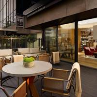 Terrace at Aria Restaurant in Hyratt Regency - Birmingham