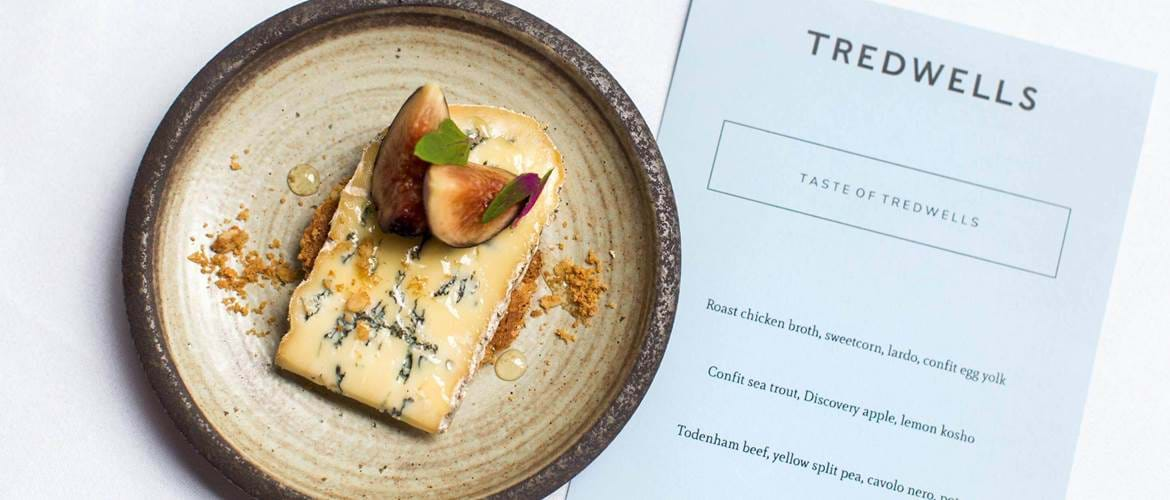 Cheese and Figs at Tredwells - London
