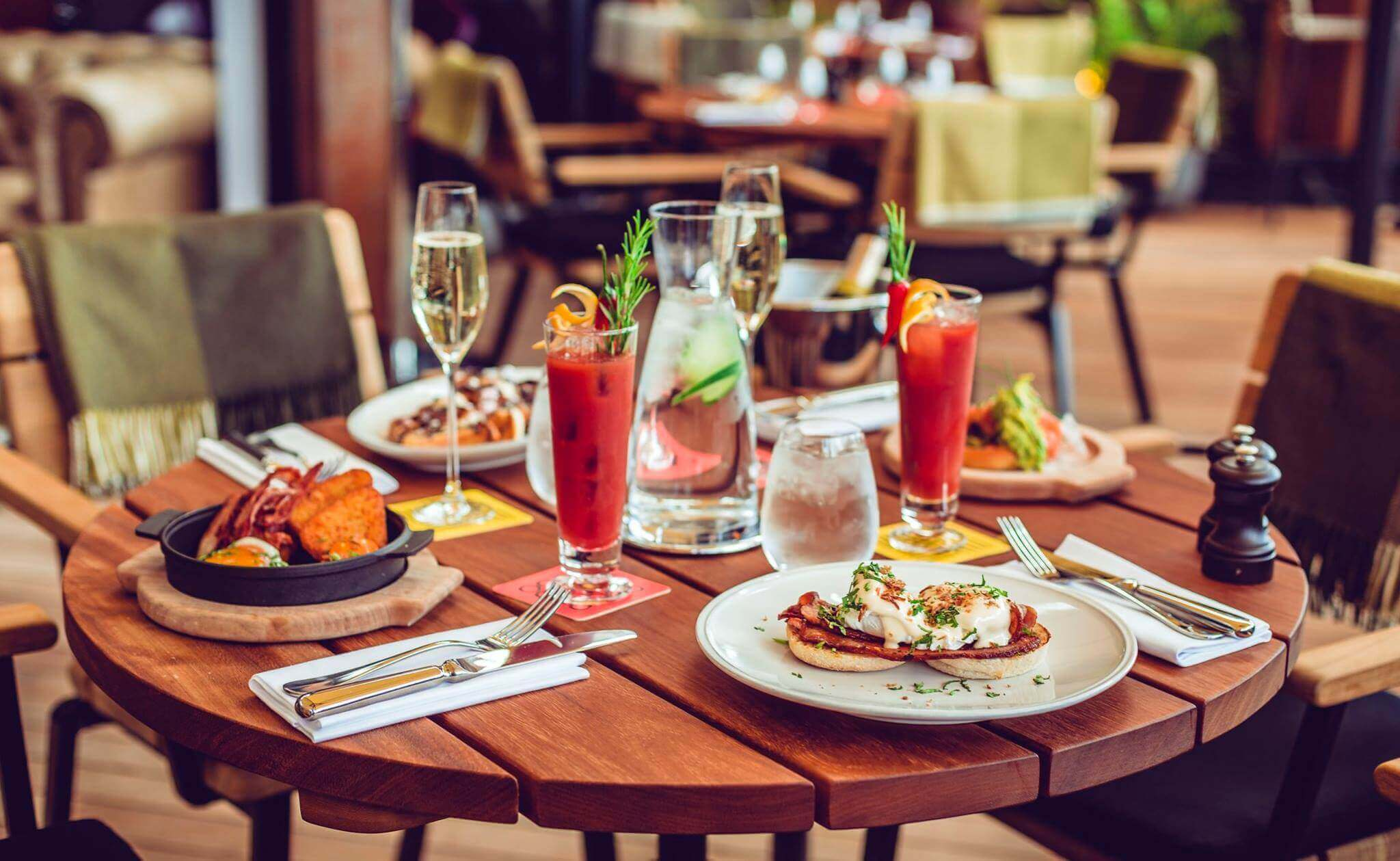 Bottomless Brunch with Bloody Mary and Eggs Benedict at East 59th Leeds
