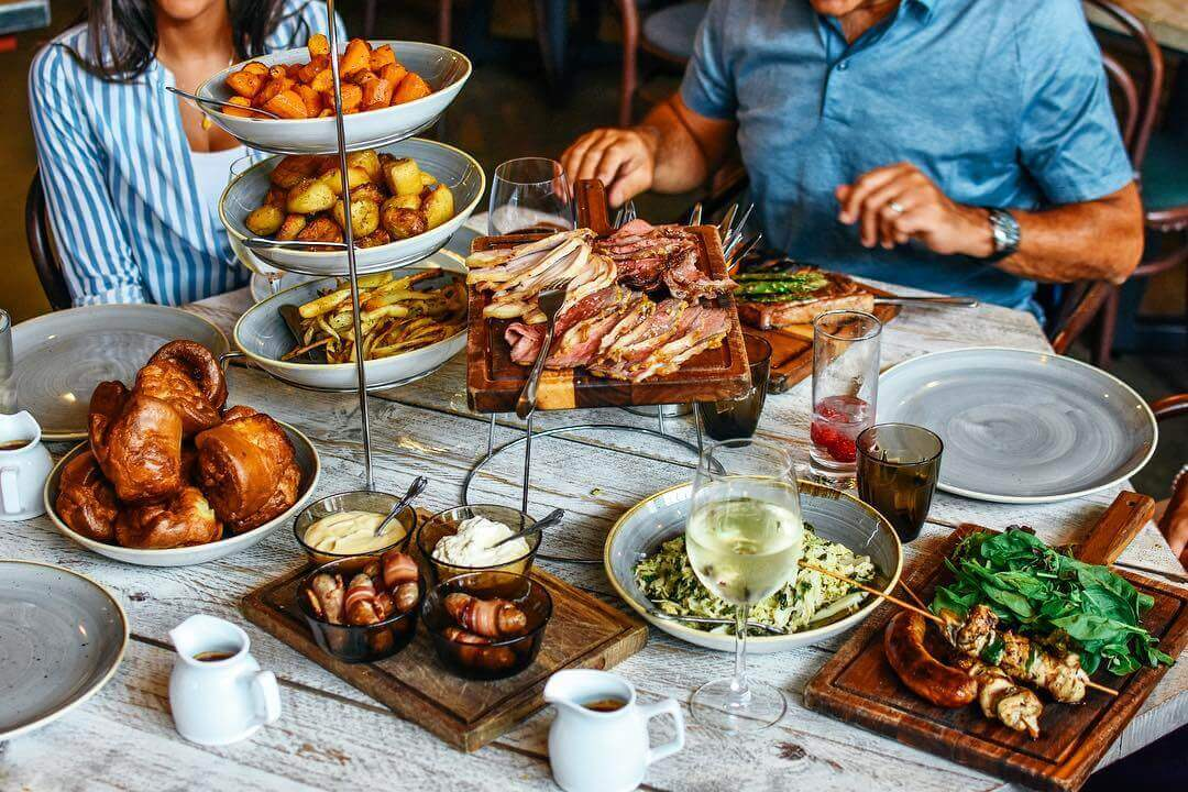 Sunday Roast Feast at Wringer and Mangle in London