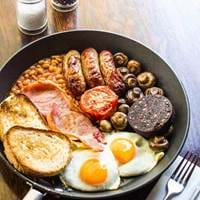 Big Breakfast at Cambridge Chop House