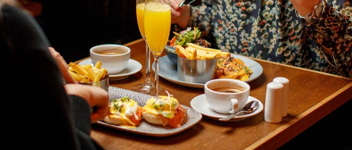 Brunch Dishes at Brasserie Sixty6, Dublin
