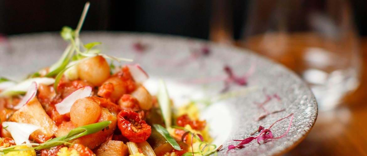 Vegetarian and Vegan Dishes at Brasserie Sixty6, Dublin