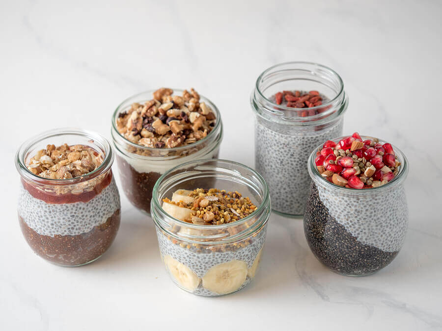 Bruncher Chia Seed Pudding Recipe- different types of chia seed pudding