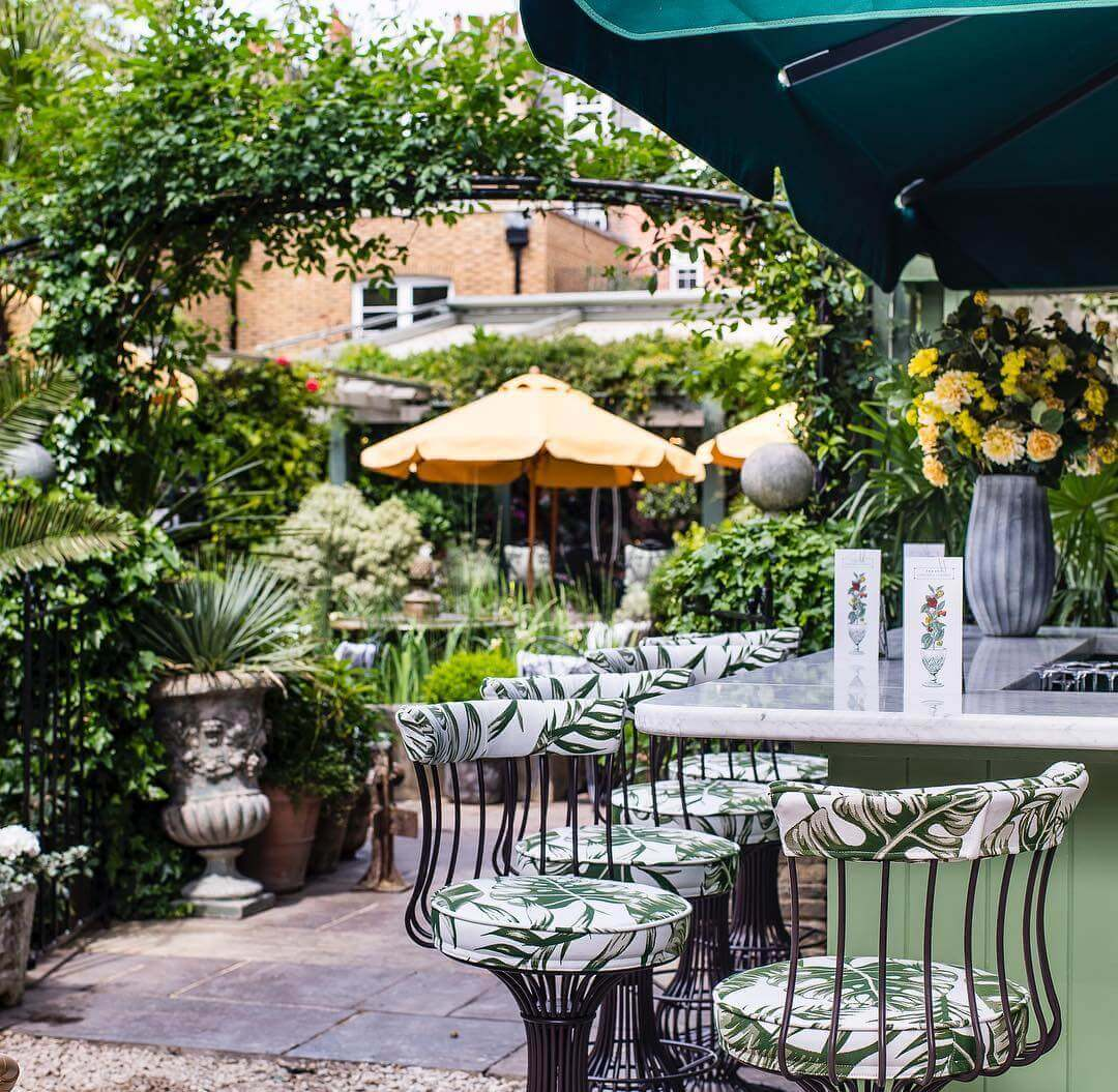 London's Best Al-Fresco Terraces | The Ivy Chelsea Garden
