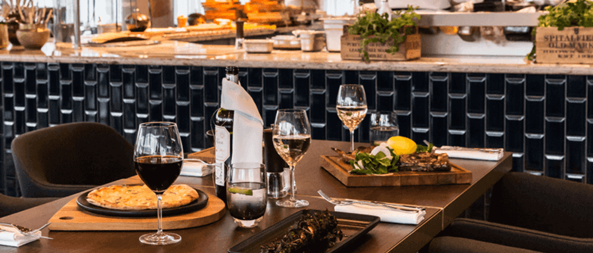 Fine Dining at Schpoons and Forx in Hilton Bournemouth