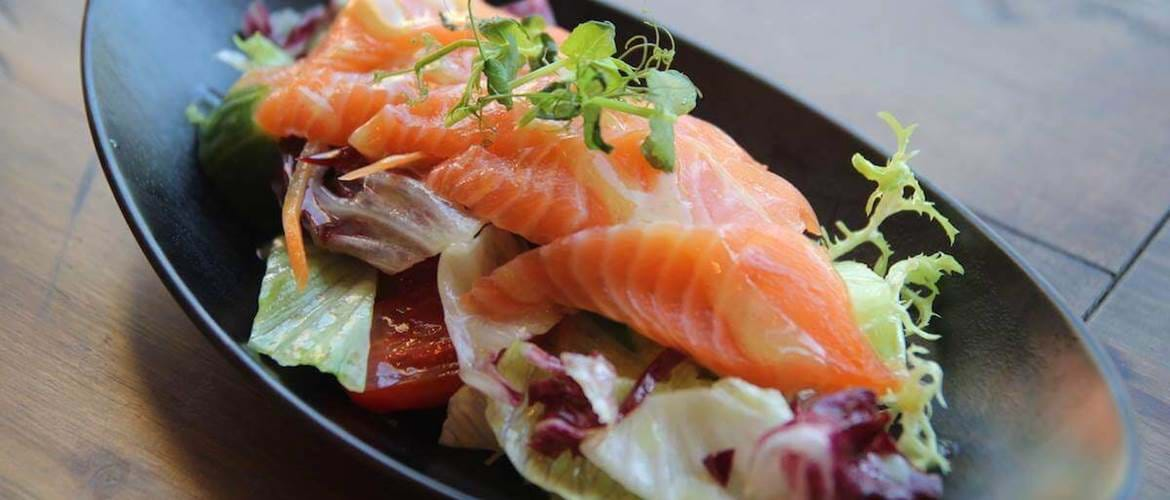 Smoked Salmon Brunch at Tootoomoo in Islington