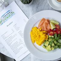 Salmon Brunch at Bluebird White City