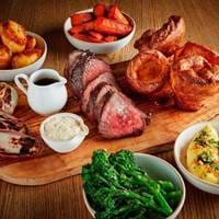 Sunday Roast at South Place Chop House in London