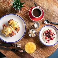 Brunch at Foundry Project in Manchester