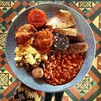 Vegan Breakfast at Deaf Institute in Manchester