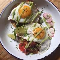 Huevos Rancheros at Blas Cafe Dublin, Breakfast and bottomless Brunch in Dublin, Brunch in Dublin