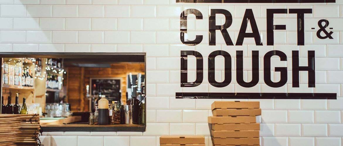 Pizzeria at Craft and Dough Sheffield