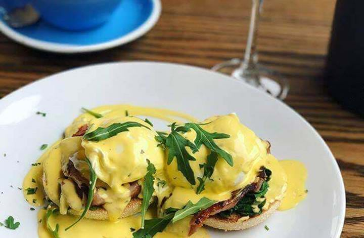 Eggs Benedict at Be More Bear