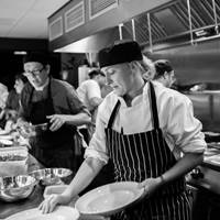 Chefs at 88 Walcot House in Bath
