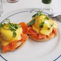 Eggs Royale at Summerhouse in London