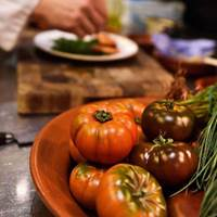 Fresh Food at Sardine, South of France, French Cuisine French Brunch, Cassoulet