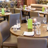 Seating at Layalina, Lebanese Cuisine, Lebnese Brunch, Small Plates, Mezze, Brunch in London