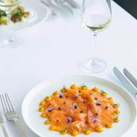 Smoked Salmon at Skylon, Brunch with a View, Riverside Brunch, Luxury Brunch, Brunch by the Thames