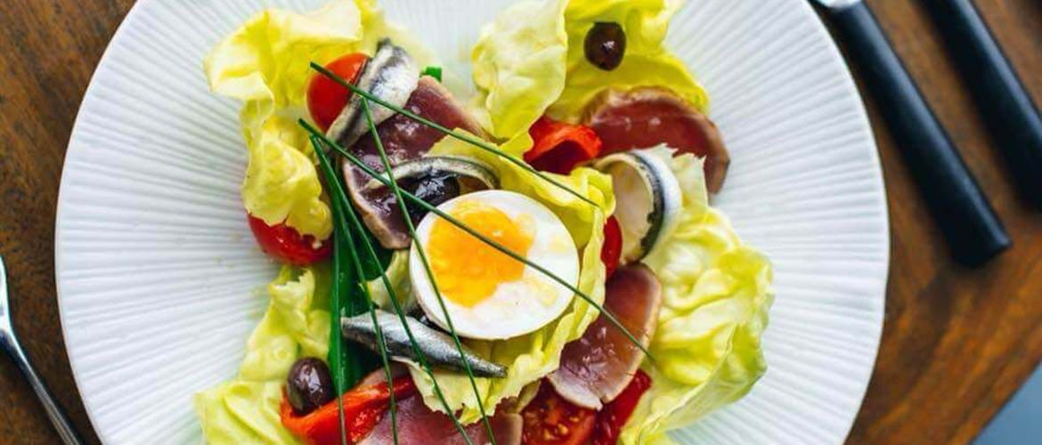 Salad at Skylon, Brunch with a View, Riverside Brunch, Luxury Brunch, Brunch by the Thames