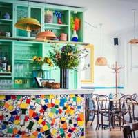 Bar at Santo Remedio, Mexican Canteen, Mexican Brunch, Weekend Brunch